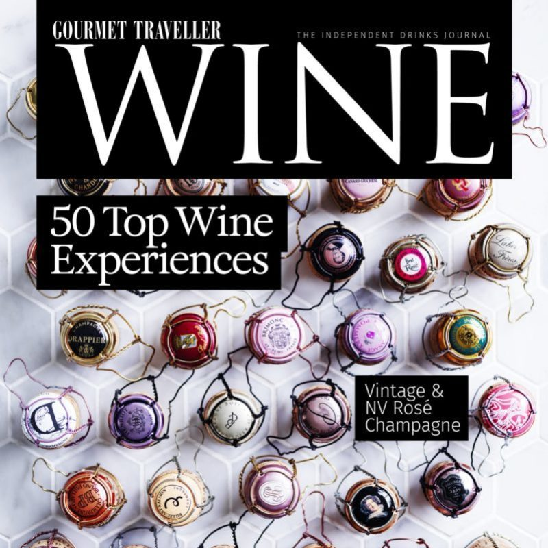 Gourment Traveller Wine Dec 2019 Cover Page